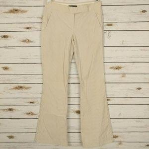 THEORY Women's Flare Pant in Beige Stripe